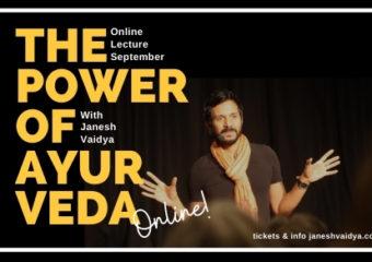 Janesh Vaidya online-föreläsning